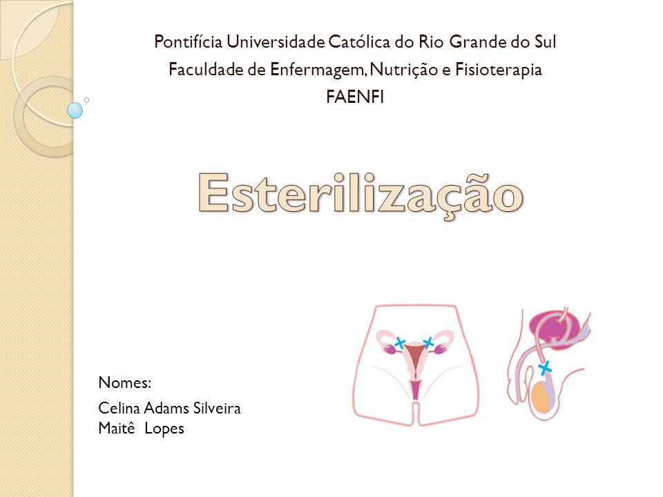 Esterilização Pontifícia Universidade Católica do Rio Grande do Sul