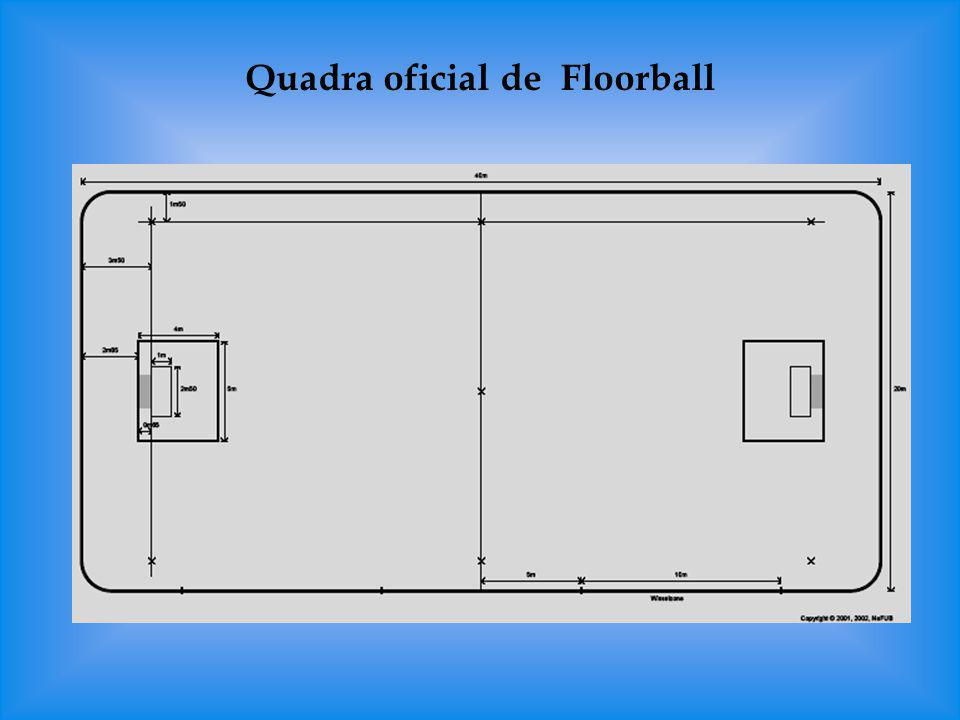 Quadra oficial de Floorball