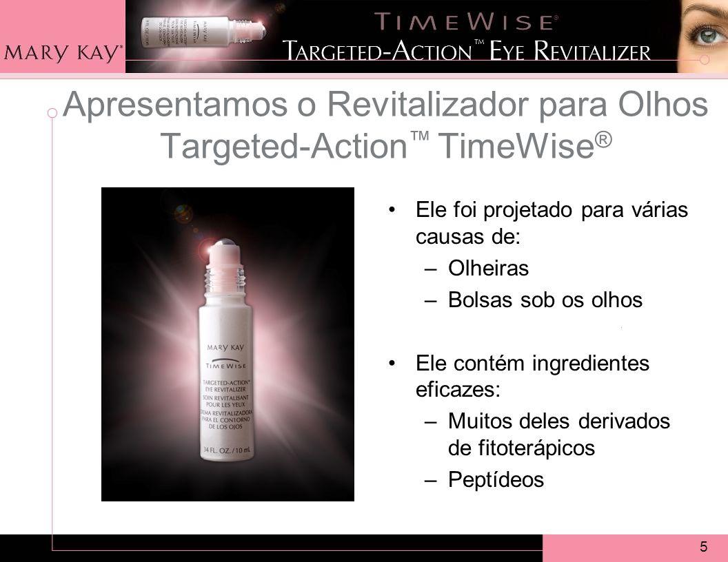 Apresentamos o Revitalizador para Olhos Targeted-Action™ TimeWise®