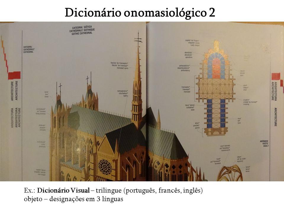 Dicionário onomasiológico 2