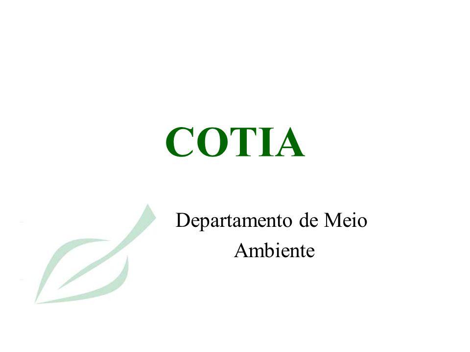COTIA Departamento de Meio Ambiente