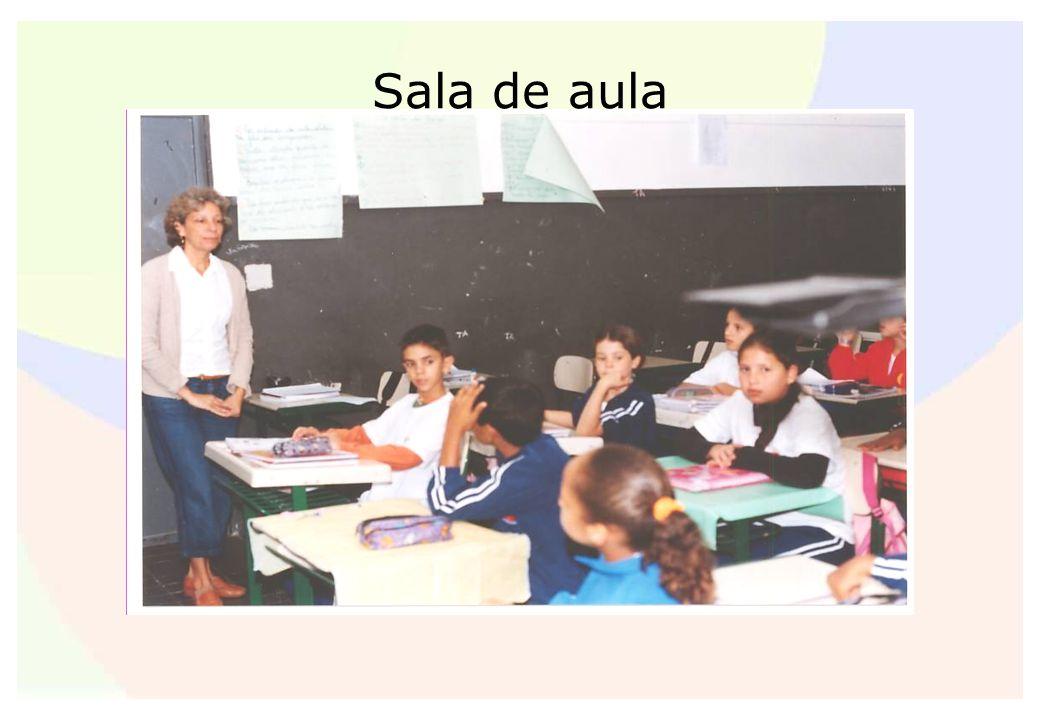 Sala de aula Foto da sala de aula