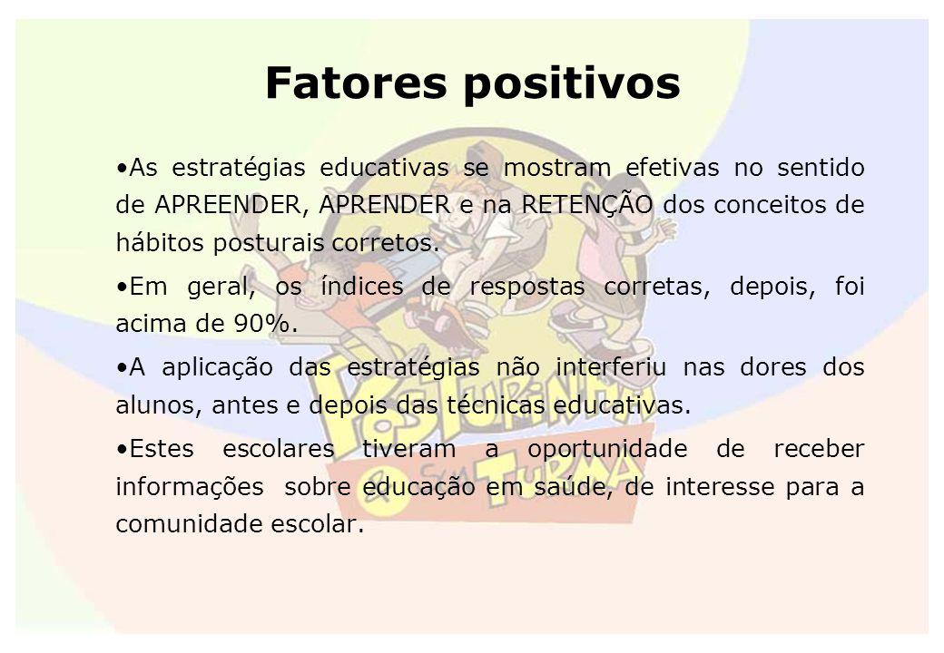 Fatores positivos