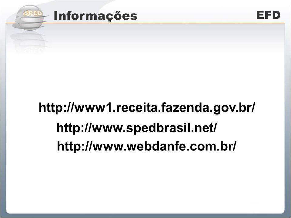 http://www.spedbrasil.net/ http://www1.receita.fazenda.gov.br/