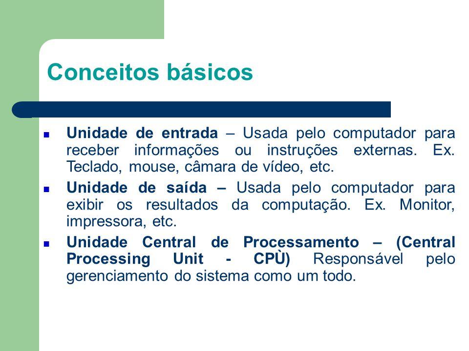 3 Conceitos básicos.