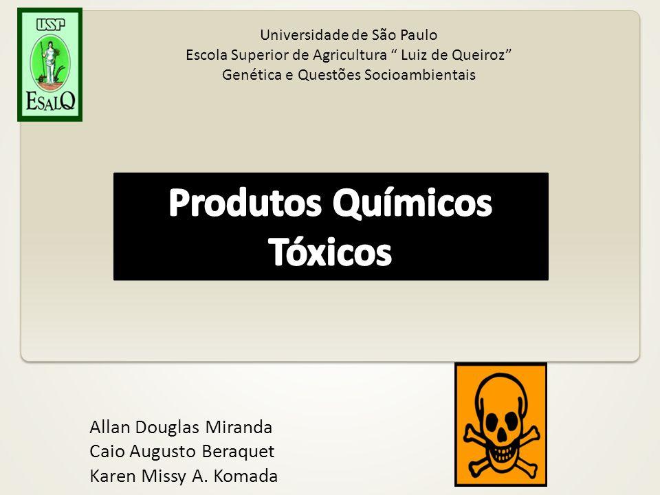 Produtos Químicos Tóxicos