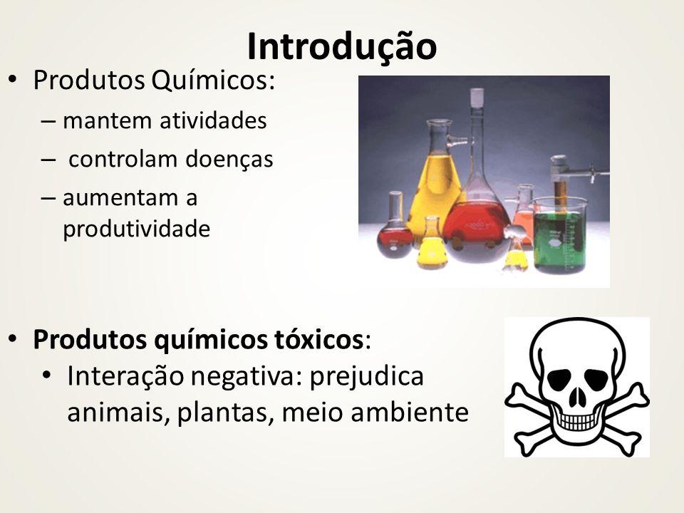 Introdução Produtos Químicos: Produtos químicos tóxicos: