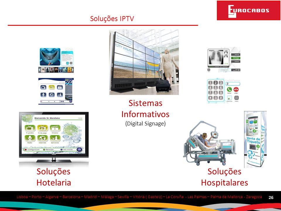 Sistemas Informativos Soluções Hotelaria Soluções Hospitalares