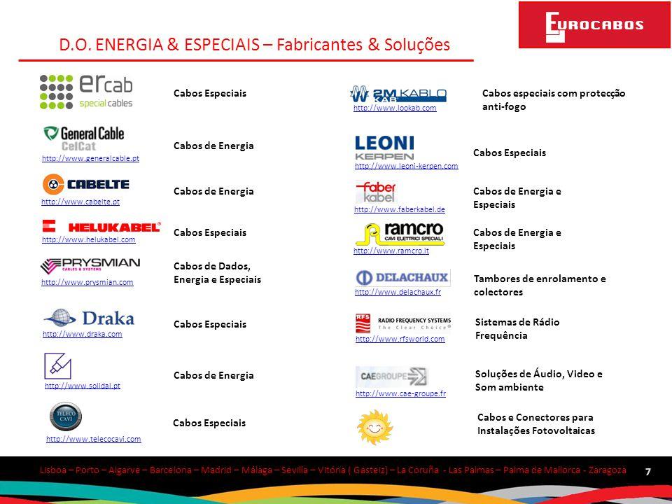D.O. ENERGIA & ESPECIAIS – Fabricantes & Soluções