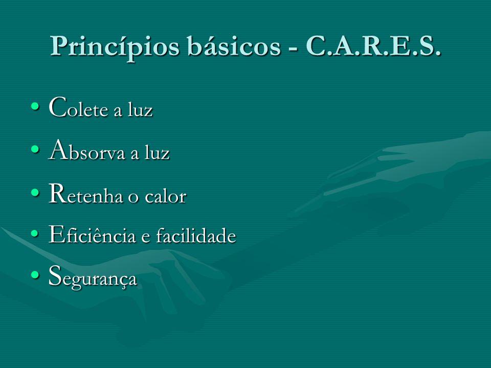 Princípios básicos - C.A.R.E.S.