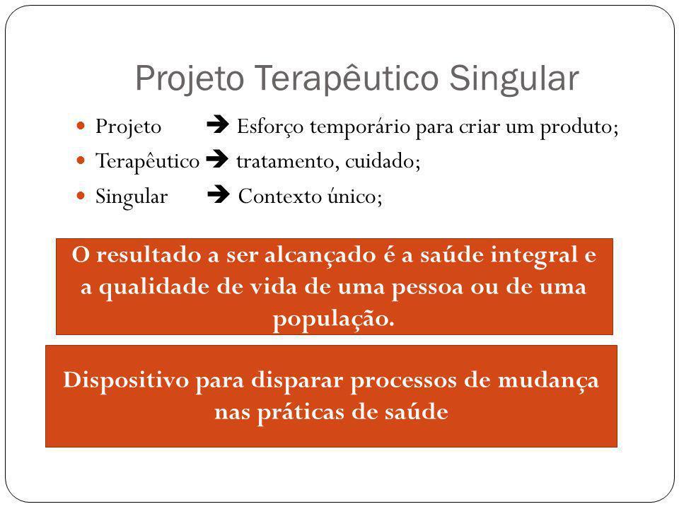 Projeto Terapêutico Singular