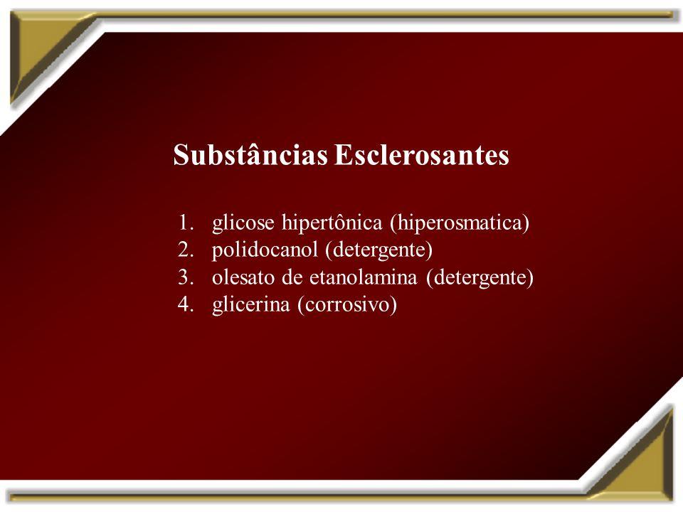 Substâncias Esclerosantes