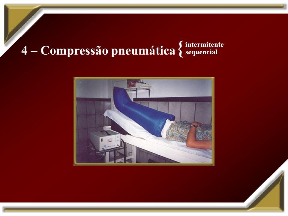 4 – Compressão pneumática
