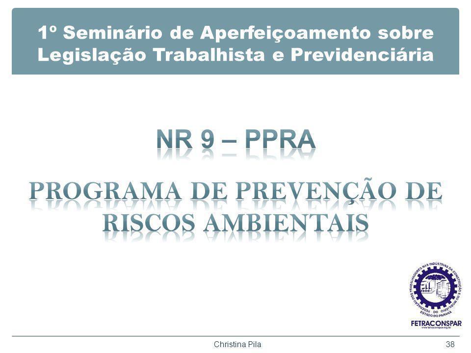 NR 9 – PPRA PROGRAMA DE PREVENÇÃO DE RISCOS AMBIENTAIS