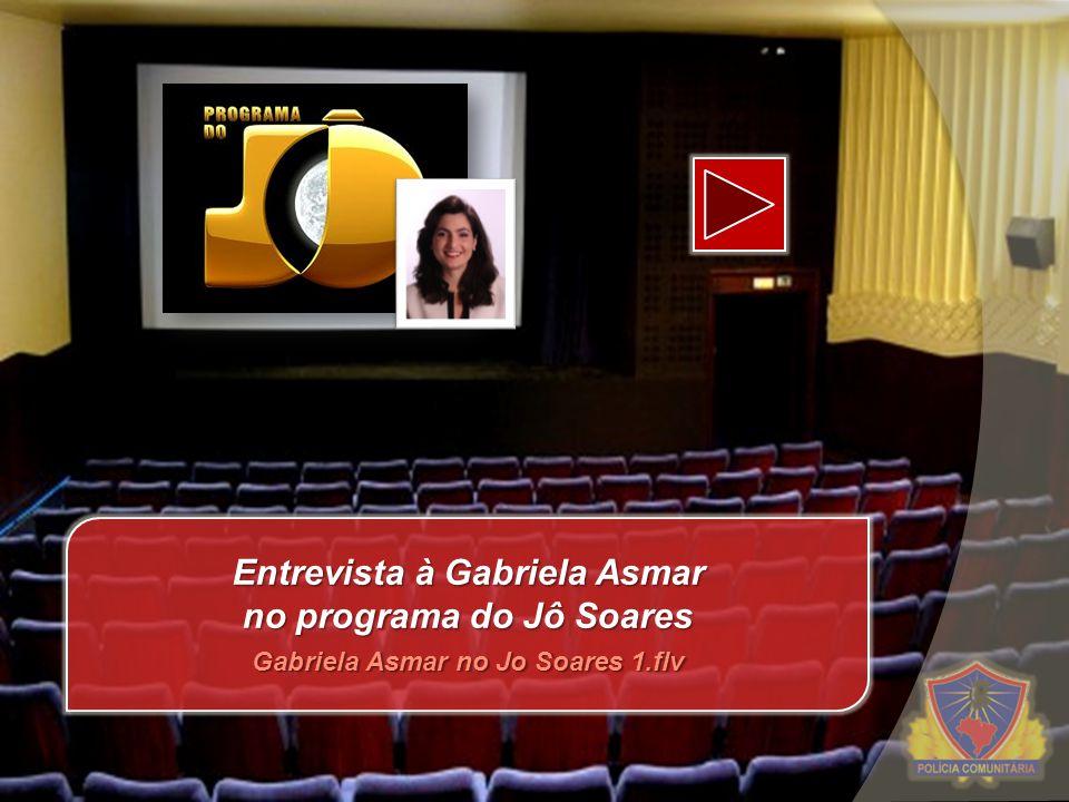 Entrevista à Gabriela Asmar no programa do Jô Soares