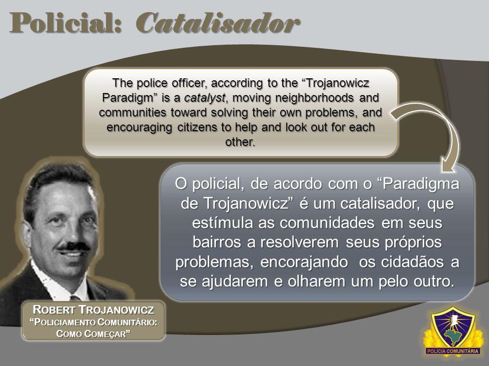 Robert Trojanowicz Policiamento Comunitário: Como Começar