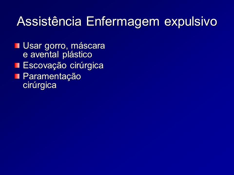 Assistência Enfermagem expulsivo
