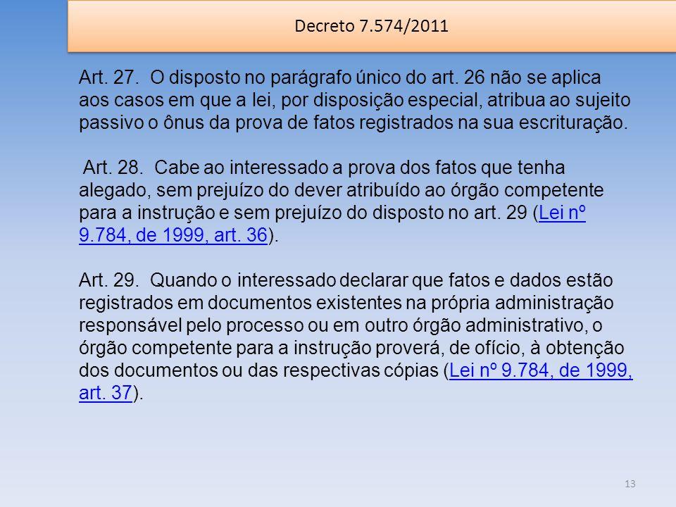 Decreto 7.574/2011