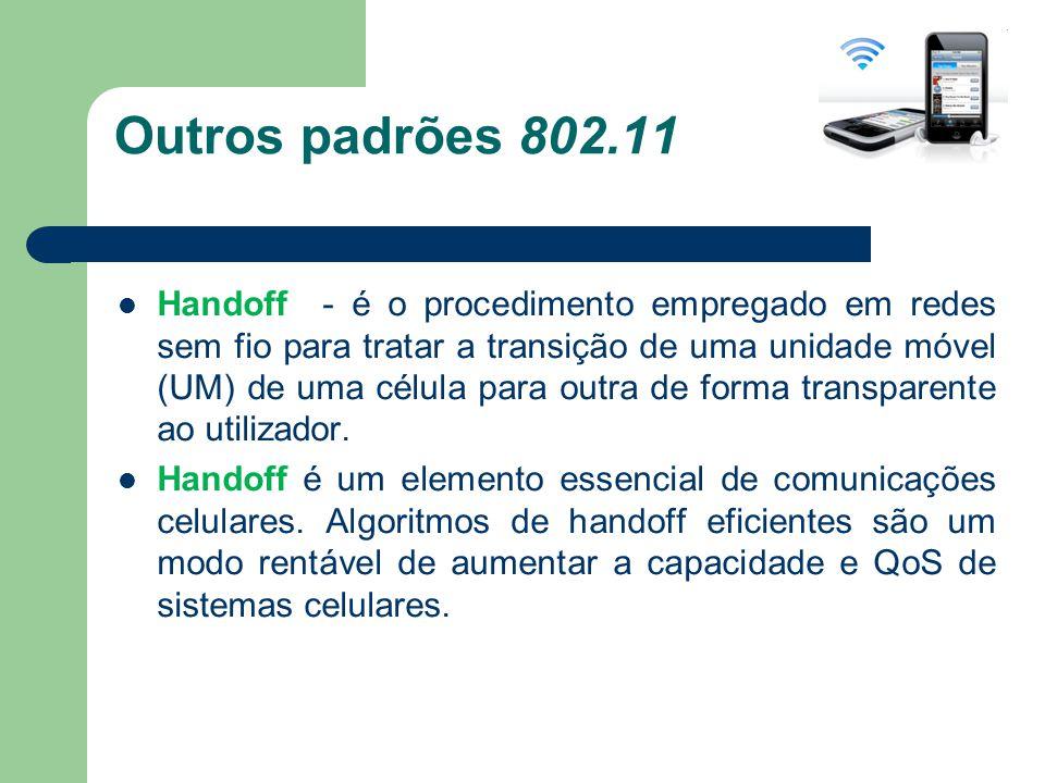 Outros padrões 802.11