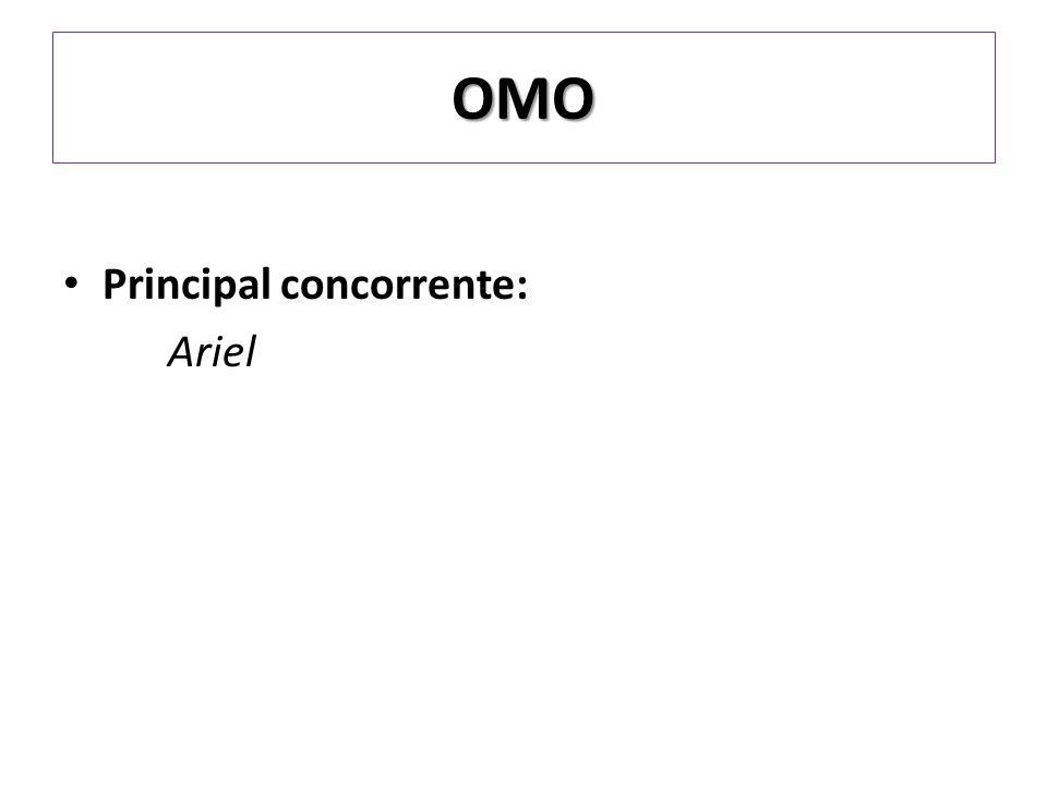 OMO Principal concorrente: Ariel