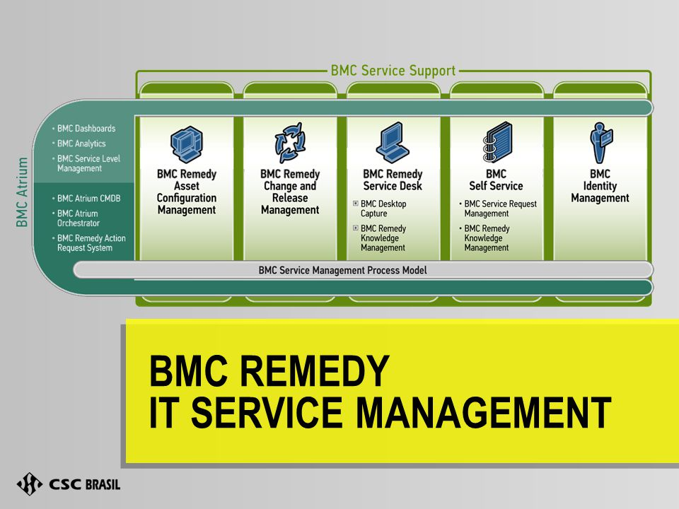 BMC REMEDY IT SERVICE MANAGEMENT