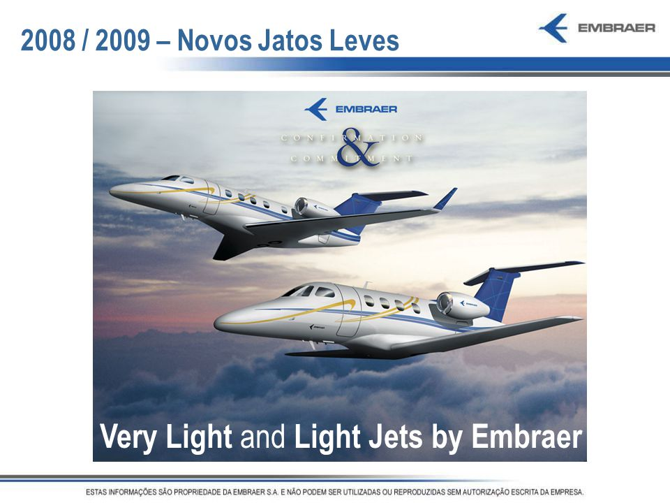 Very Light and Light Jets by Embraer