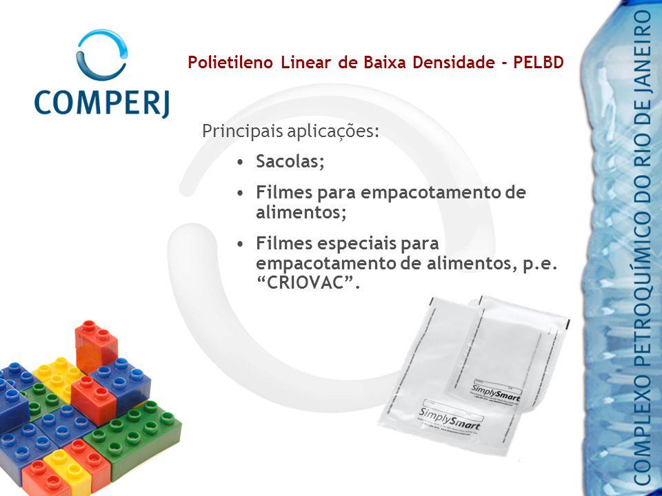 Polietileno Linear de Baixa Densidade - PELBD