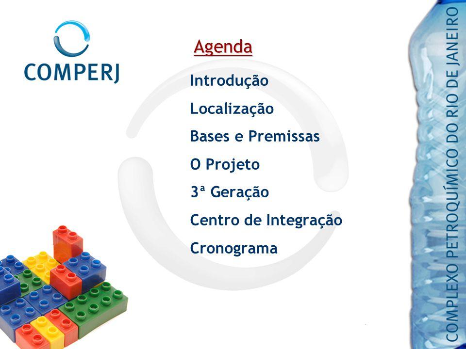 Agenda Introdução Localização Bases e Premissas O Projeto 3ª Geração