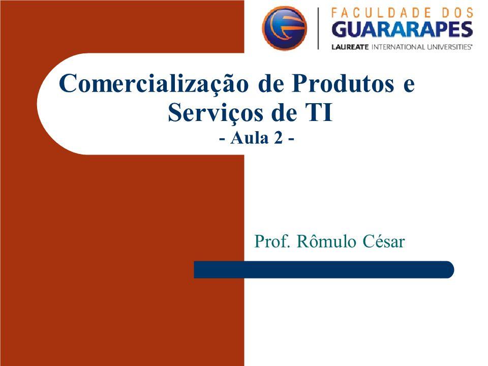 Comercialização de Produtos e Serviços de TI