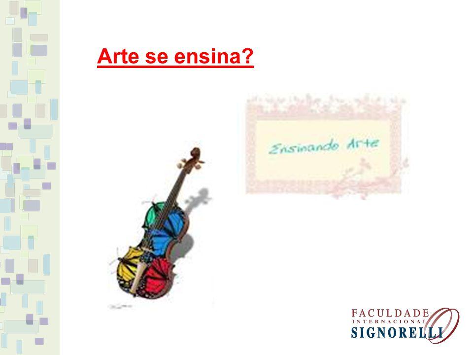 Arte se ensina