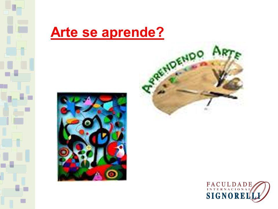 Arte se aprende