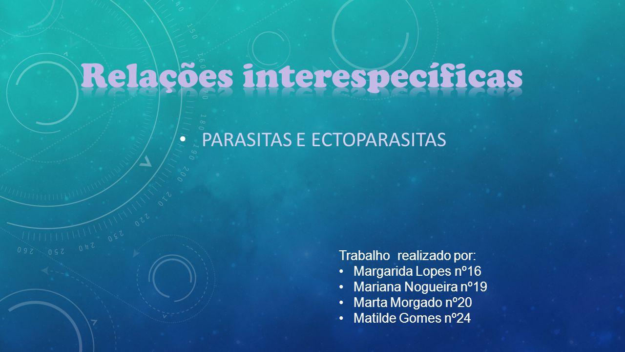 Parasitas e Ectoparasitas