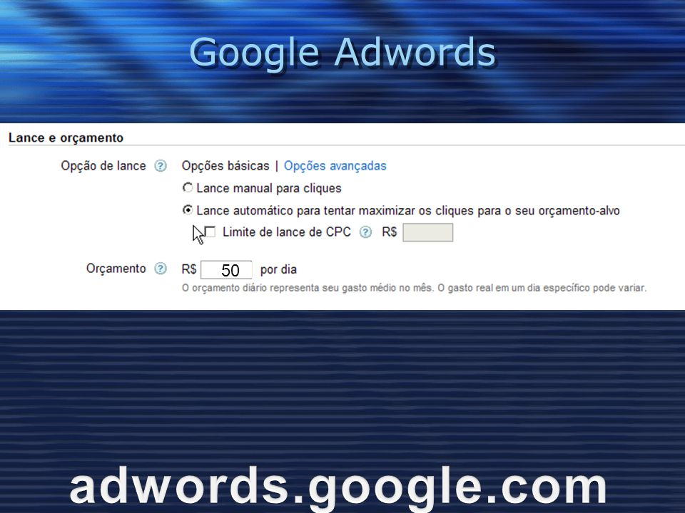 Google Adwords 50 adwords.google.com