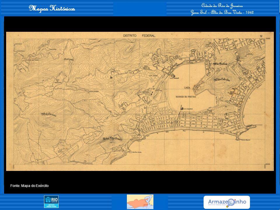 Mapas Históricos Cidade do Rio de Janeiro