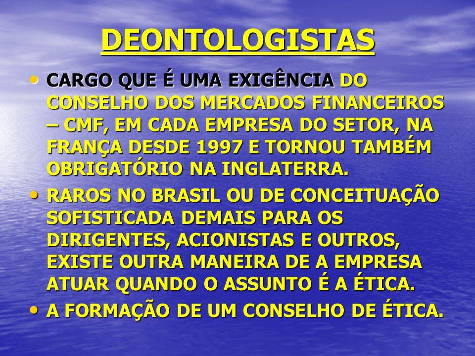 DEONTOLOGISTAS