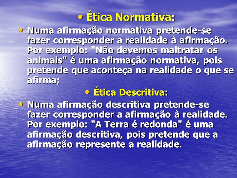 Ética Normativa: