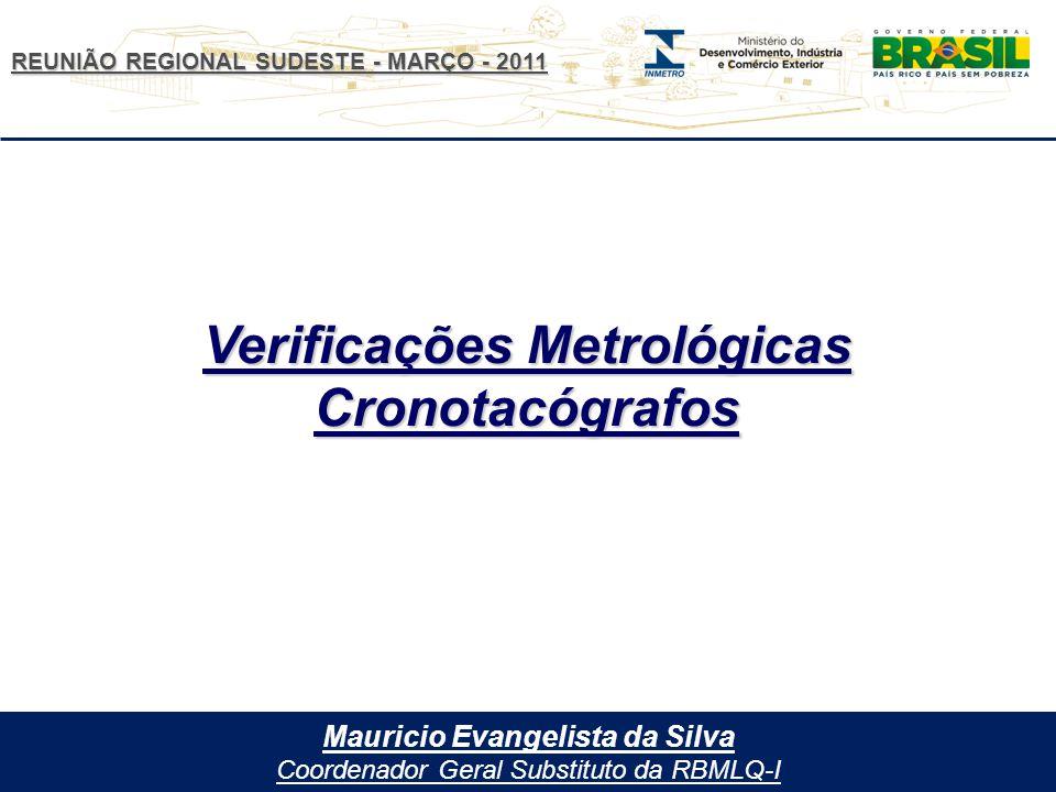 Verificações Metrológicas Mauricio Evangelista da Silva