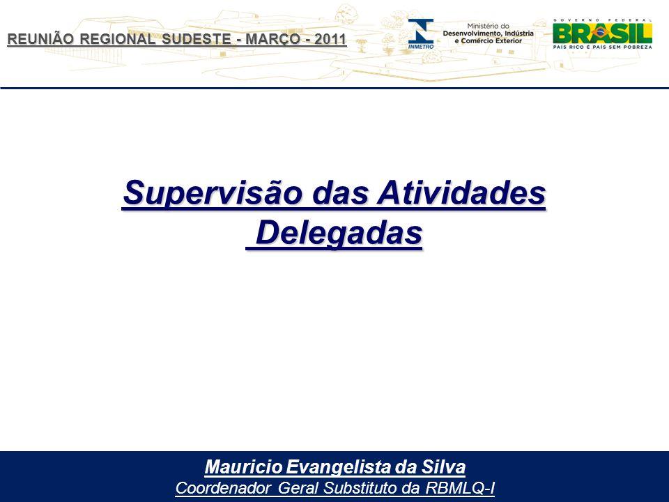 Supervisão das Atividades Mauricio Evangelista da Silva