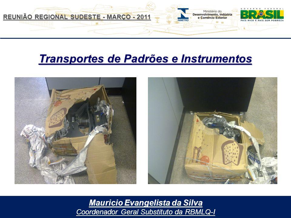 Transportes de Padrões e Instrumentos Mauricio Evangelista da Silva