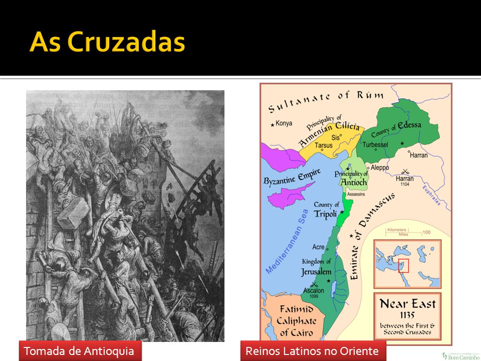 As Cruzadas Tomada de Antioquia Reinos Latinos no Oriente