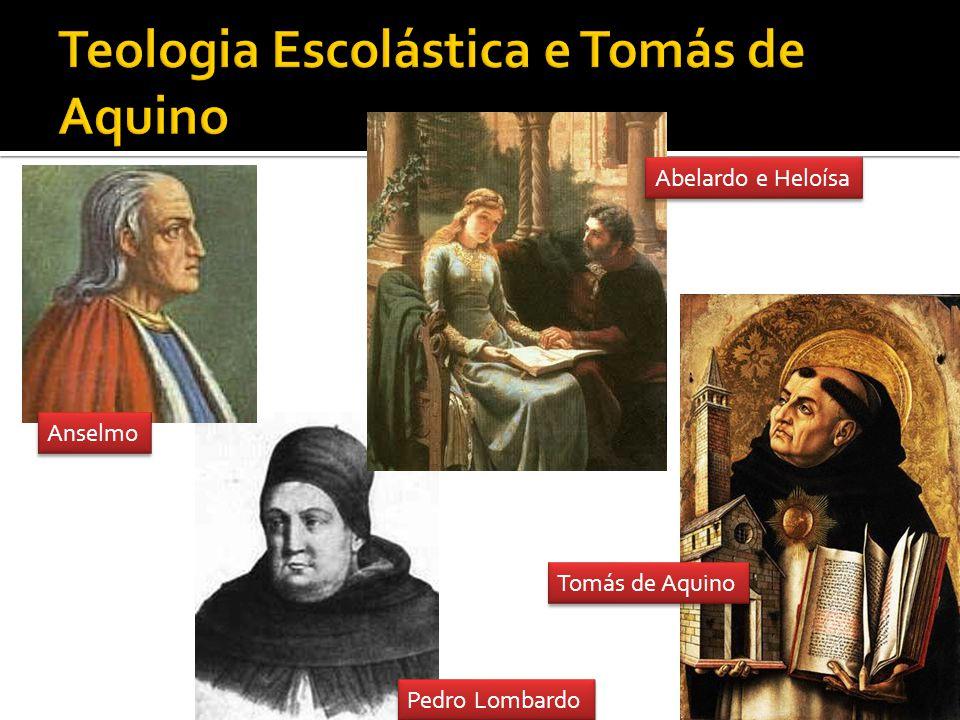 Teologia Escolástica e Tomás de Aquino