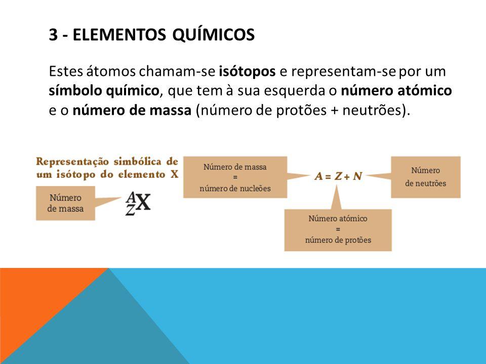 3 - Elementos químicos