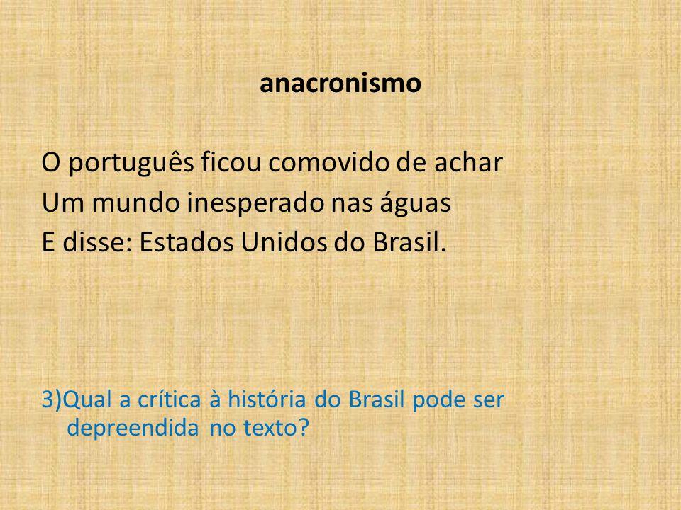 O português ficou comovido de achar Um mundo inesperado nas águas