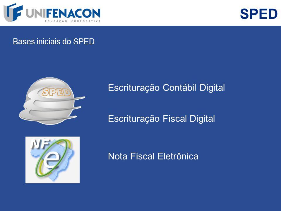 SPED Escrituração Contábil Digital Escrituração Fiscal Digital