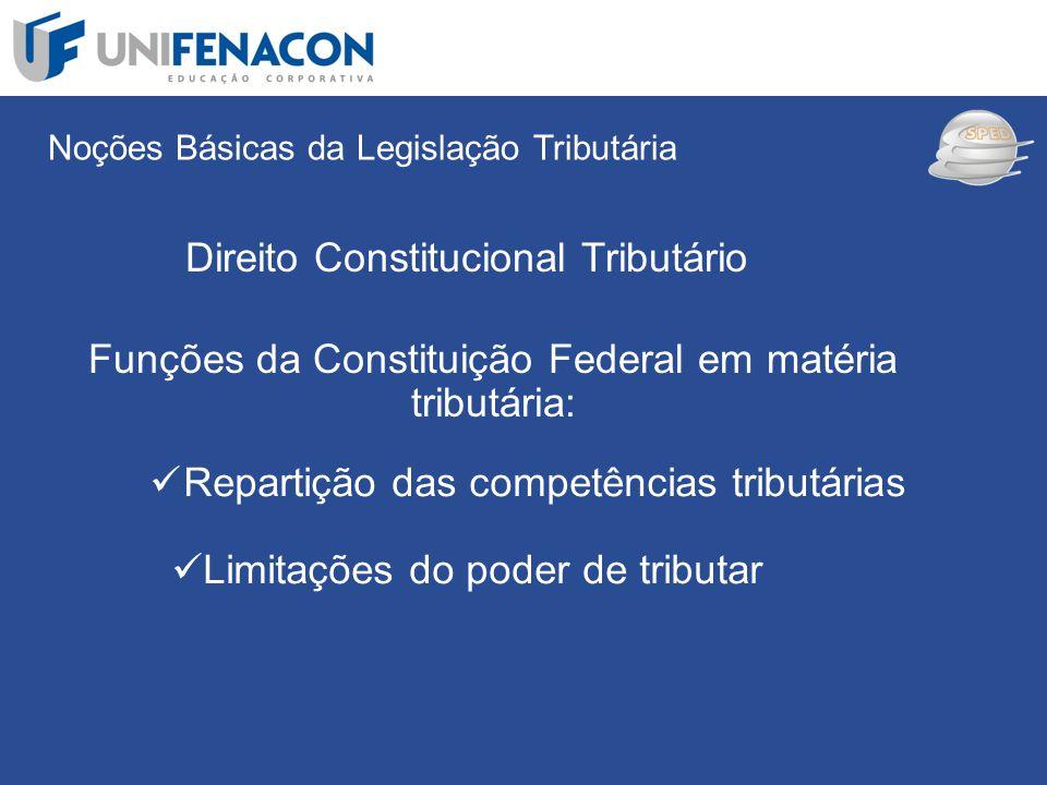SPED Direito Constitucional Tributário