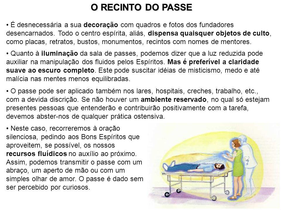 O RECINTO DO PASSE