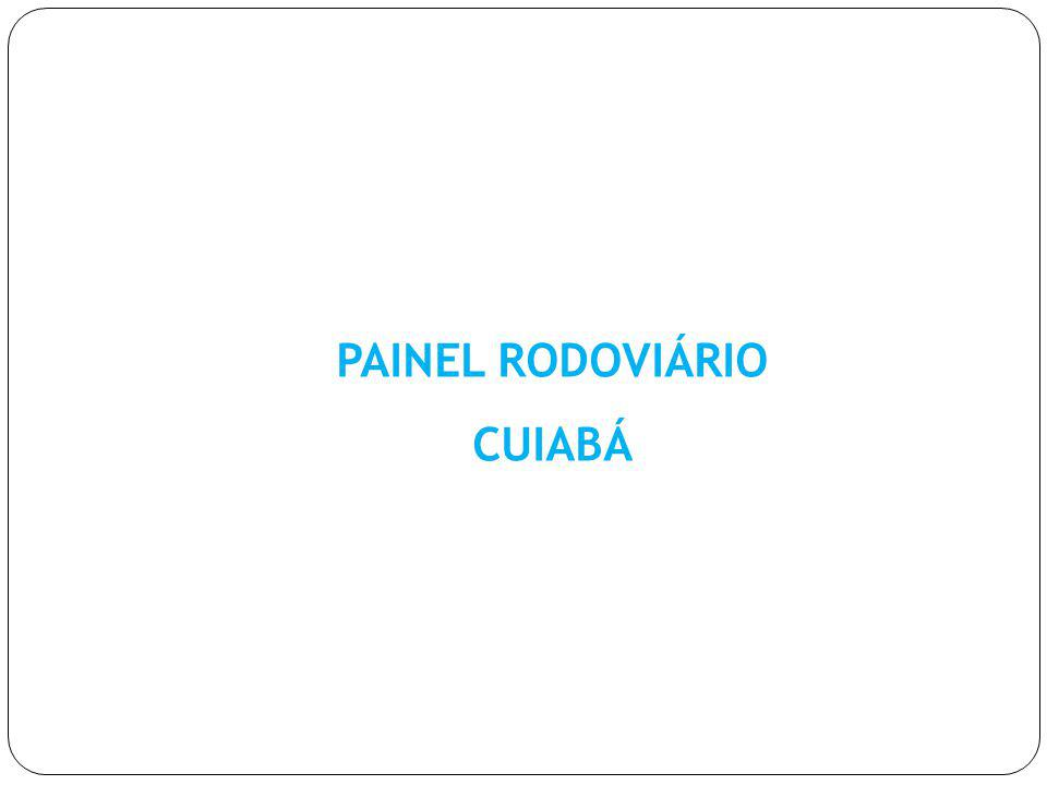 PAINEL RODOVIÁRIO CUIABÁ