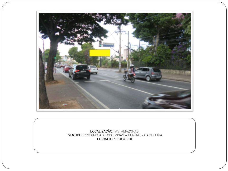 LOCALIZAÇÃO: AV. AMAZONAS