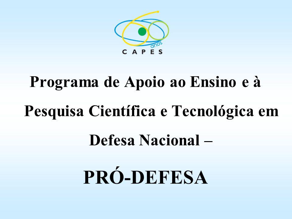 Programa de Apoio ao Ensino e à Pesquisa Científica e Tecnológica em Defesa Nacional –