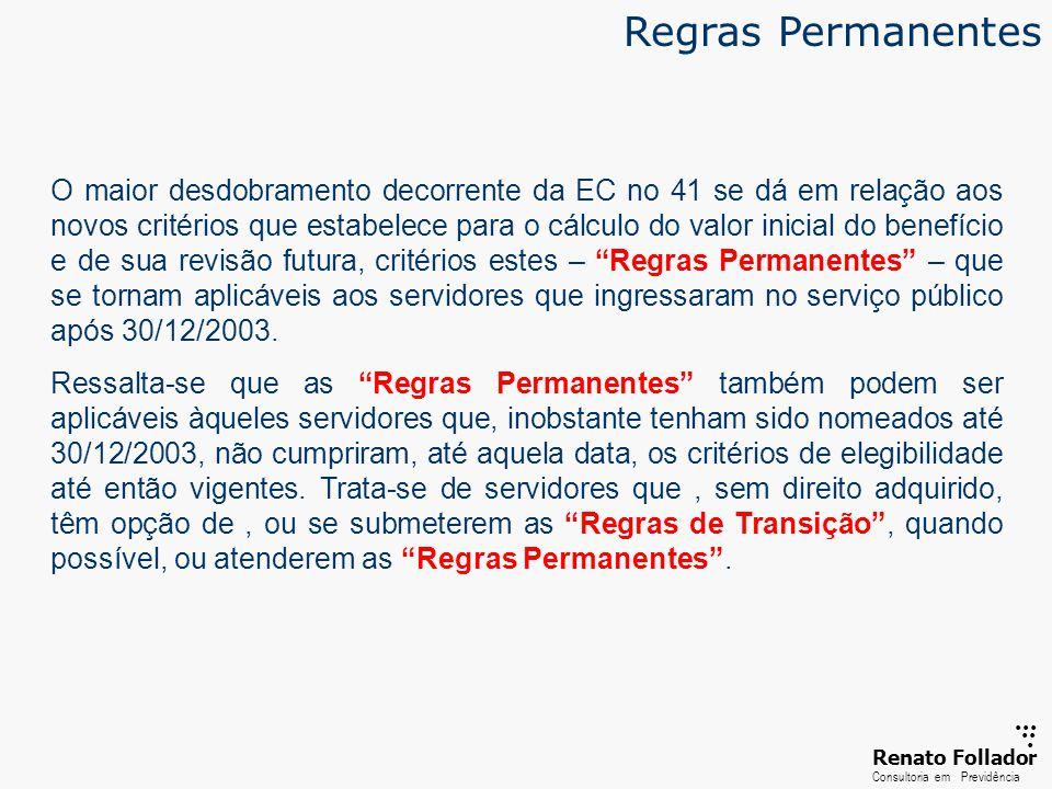 Regras Permanentes